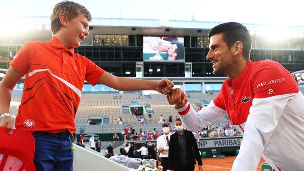 Djokovic credits young fan for inspiring him to win 19th major