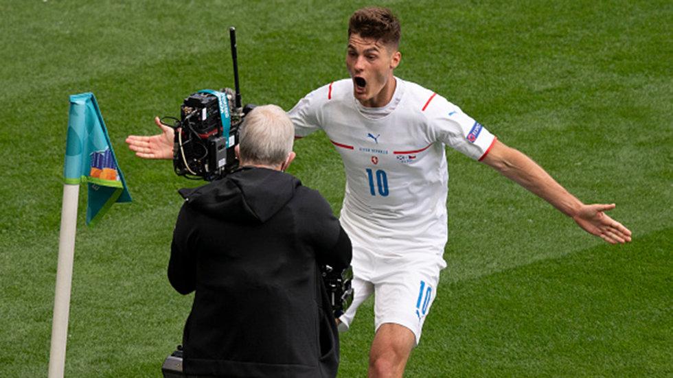 Schick's 'phenomenal' strike ranks among the best at the European Championship