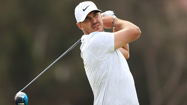 Koepka shines in first round of U.S. Open