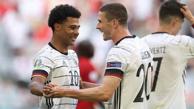 Gosens, relentless attack power Germany over Portugal