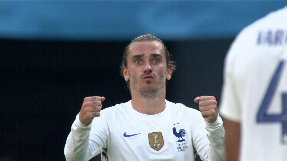Griezmann levels the score for France