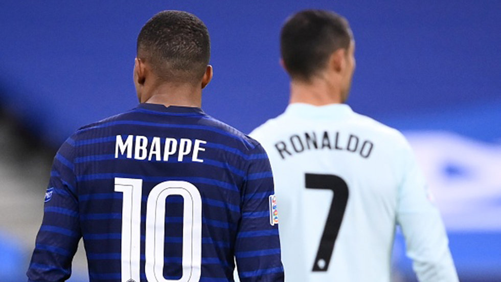Inspired by his idol Ronaldo, Mbappe on pace to eclipse some of his records