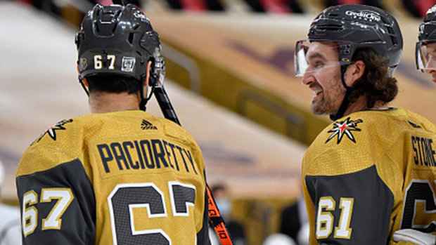 Should Vegas be concerned with lack of output from forwards?