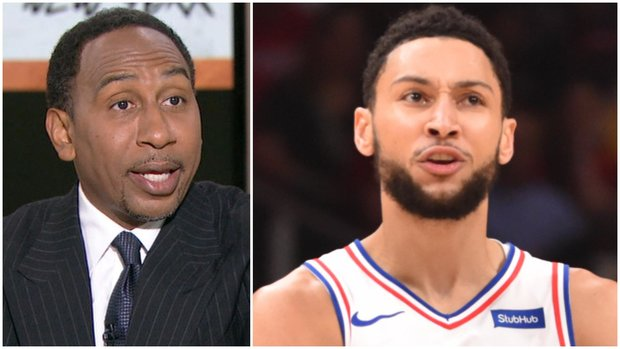 Stephen A. says where the Sixers should trade Simmons