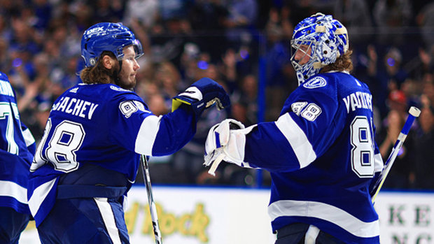 Button: The Bolts were going a different speed than the Islanders