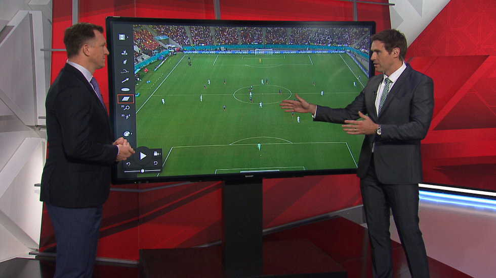 Breaking down where France got things wrong tactically against Switzerland