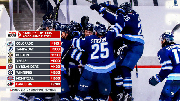 The Inside Edge: Updated odds to win the Stanley Cup