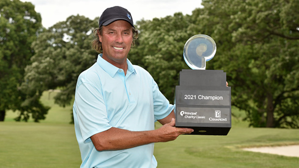 Ames picks up his second career PGA Tour Champions victory