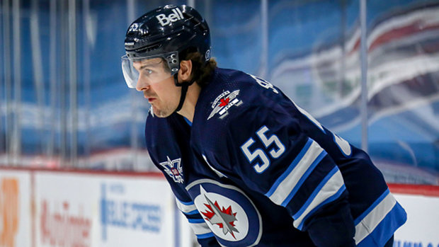 How big of a role did Scheifele's suspension play in this series?