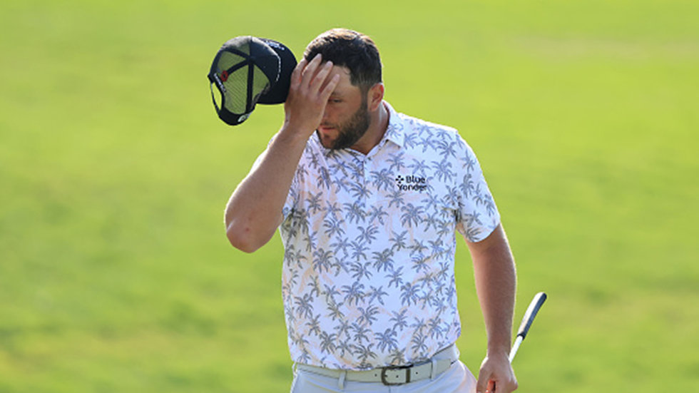 Rahm forced to withdraw from Memorial with 6-shot lead after positive COVID-19 test