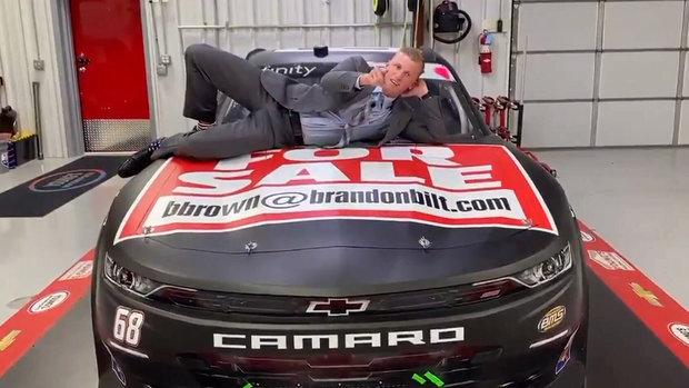 Must See: NASCAR Xfinity driver Brown releases funny video to seek sponsors