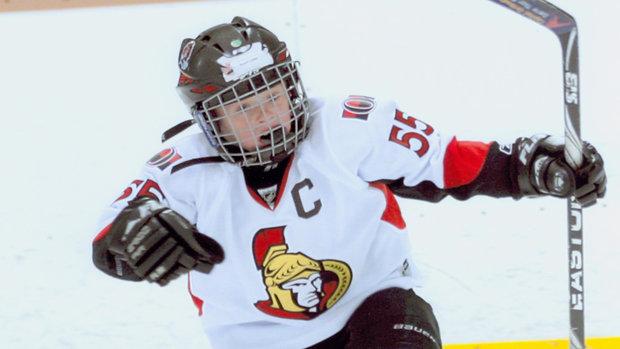 Top prospect Clarke on Sens fandom, summer skates with Karlsson