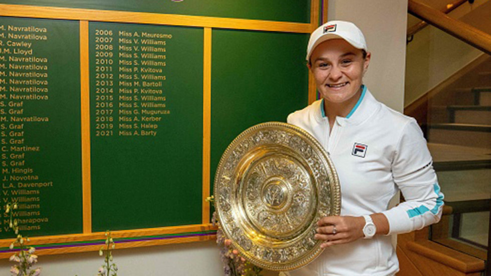 Barty: ''It's been an incredible month''