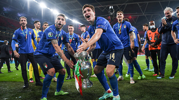 Italy's evolution over three-year period culminates with European Championship