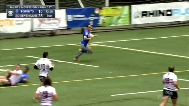 Must See: Montero dances and sets up Tuculet for the try