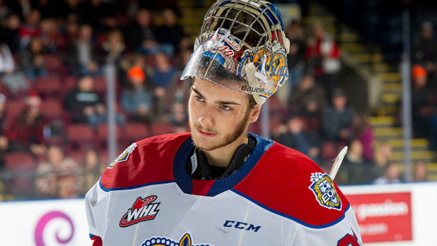 'Extremely confident' Cossa believes he's the best goalie in the draft