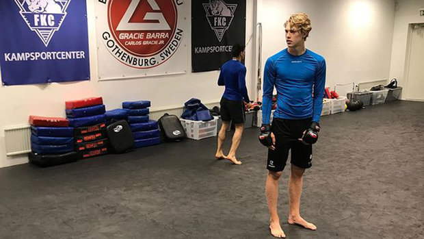 McGregor fan Edvinsson on how MMA training helped his hockey