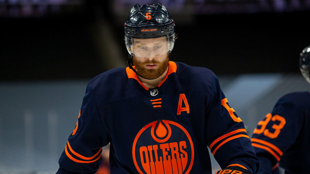Giordano, Larsson leave big holes to fill on Flames', Oilers' bluelines
