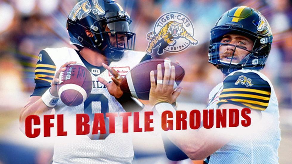 CFL Battle Grounds: Masoli, Evans compete for Ticats' starting quarterback role