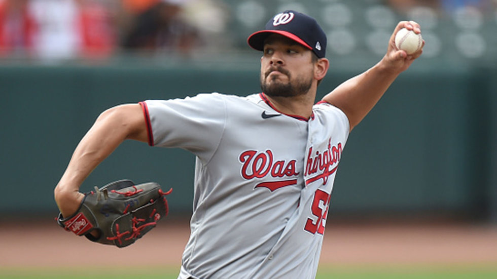 Blue Jays acquire lefty reliever Brad Hand from Nats