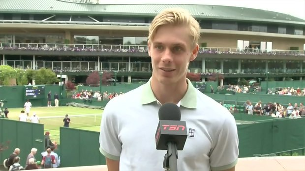 Shapovalov: 'I've been able to play some exceptional tennis'