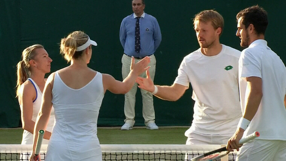 Dabrowski, Pavic ousted at Wimbledon by Peschke, Krawietz