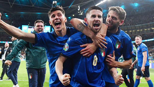 Italy's path to the 2020 Euro final