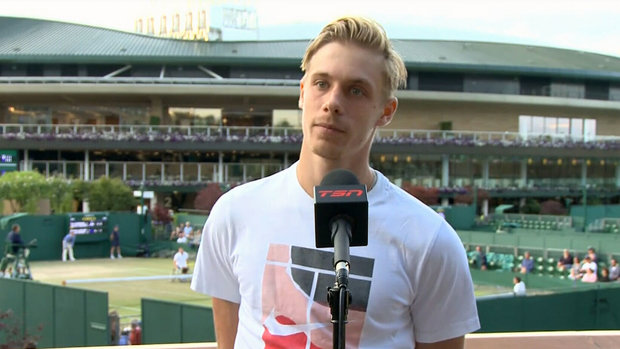 Shapovalov proud of himself, but also frustrated he couldn't capitalize when needed