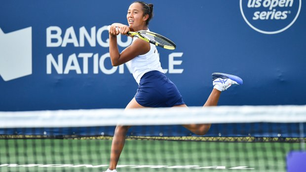 Fernandez finally finds her offensive game in US Open win