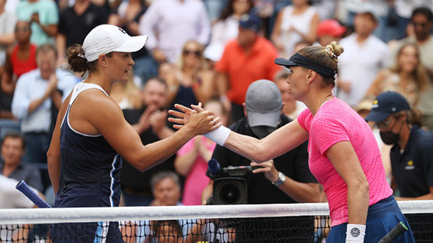 Barty breezes into the second round of US Open