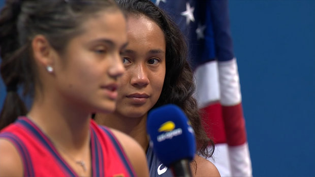 Raducanu says she hopes to play Fernandez in more finals down the road