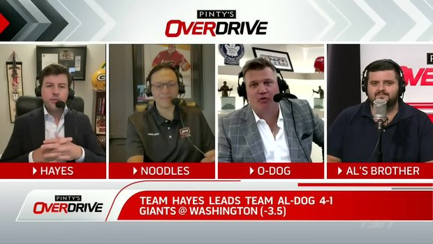Hayes is up as rivalry with Team Al-Dog continues