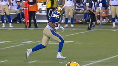 Harris moves to sixth all time on CFL rushing list in Bombers victory