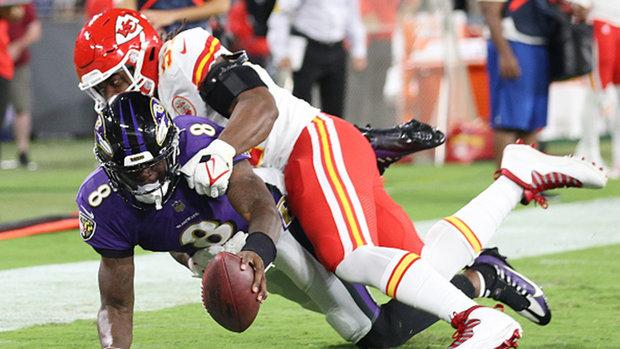 Sanchez on Ravens' win: It was a 'gutsy' effort by Lamar Jackson