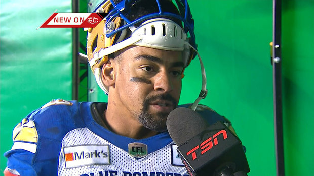 Harris on moving up the CFL career rushing list: 'It means a lot'