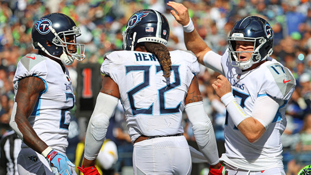 Henry takes it upon himself to carry Titans to comeback win over Seahawks