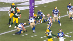 Bombers defence makes Cornelius pay for mistake again with another TD