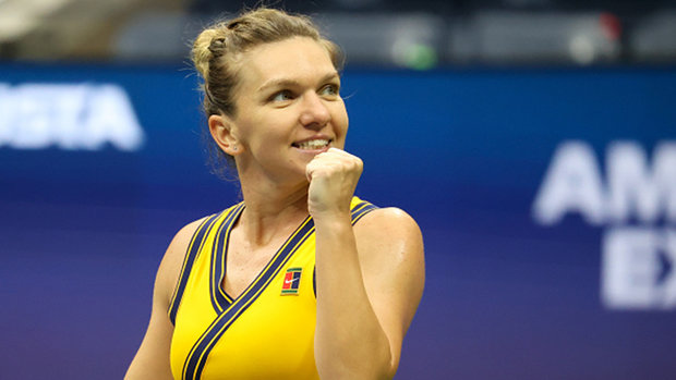 Halep in US Open third round for first time in five years