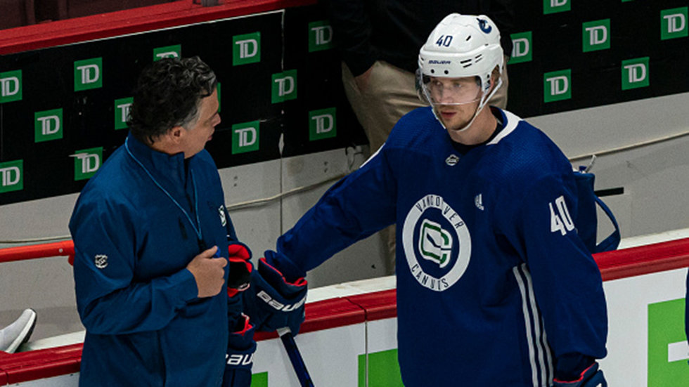 Green on Pettersson and Hughes: It'd be very disappointing if they're not in camp