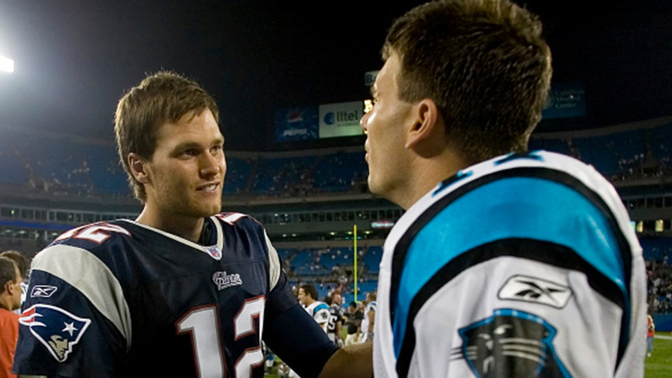 Delhomme on Brady: 'First thing, I'm jealous of him'