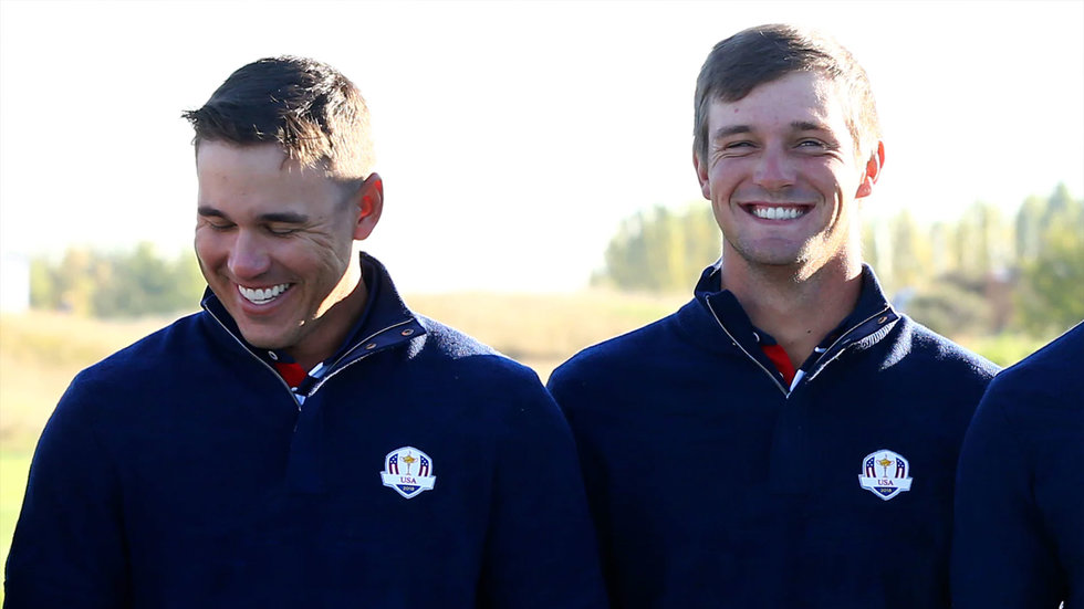 Speed Golf: Should Stricker just pair Bryson and Brooks together?