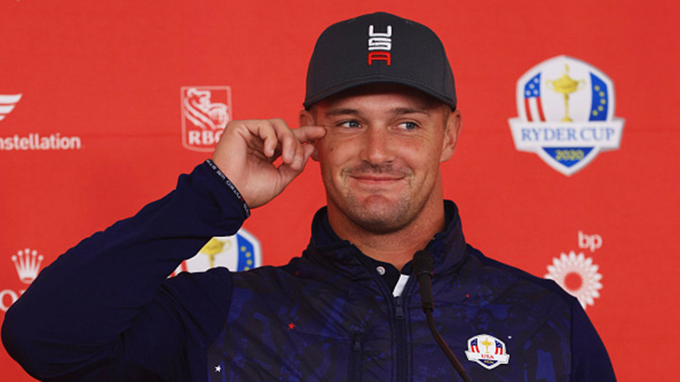 Did Bryson hint at a possible pairing with Koepka?