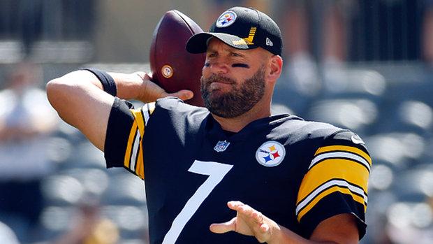 Steelers' Roethlisberger dealing with pectoral issue, Watt nursing groin injury