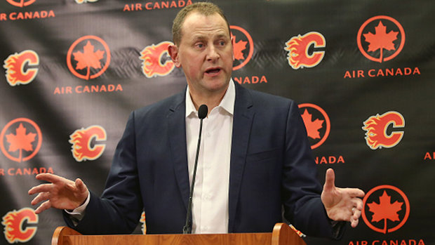 Treliving defends decision to not make major moves to Flames' roster