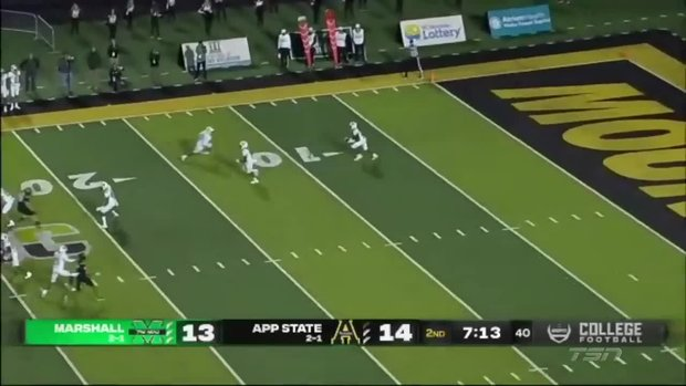 Must See: Rasheen Ali takes kickoff 97-yards for TD