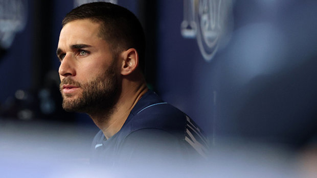 Matheson on Kiermaier's comments: 'this adds a little spice to this'