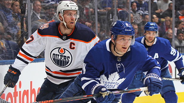 McDavid excited to start on line with Hyman: 'On the ice his work ethic is what stands out'