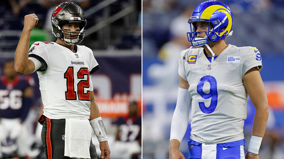 Palmer 'cannot wait' to see Brady go toe-to-toe with Stafford
