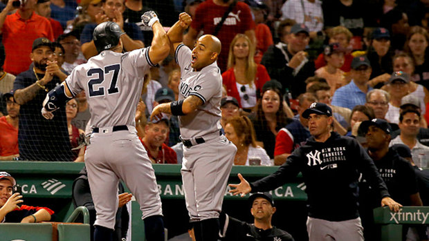 MLB: Yankees 8, Red Sox 3