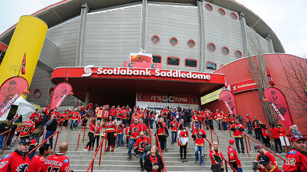 Flames set to welcome fans to Saddledome for first time in 16 months
